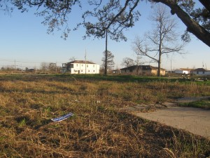 The Lower Ninth Ward, still largely vacant more than 3 years after Katrina